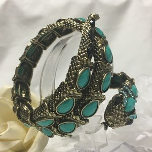 Jewelry - Coiled Snake Bangle Bracelet